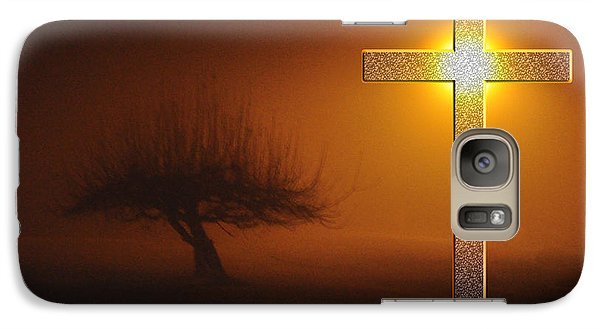 Galaxy Case featuring the photograph My Life In God's Hands by Clayton Bruster