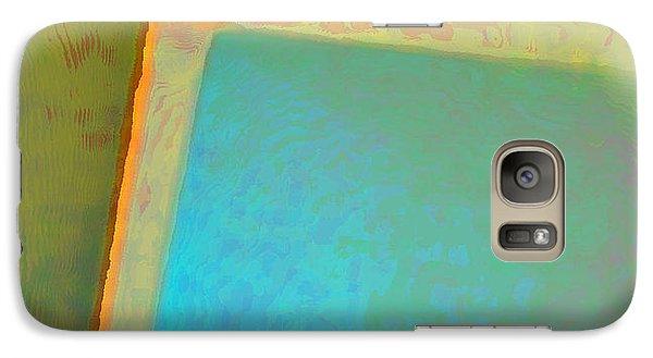 Galaxy Case featuring the digital art My Love by Richard Laeton