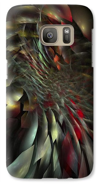 Galaxy Case featuring the digital art My Own Way To Burn by NirvanaBlues