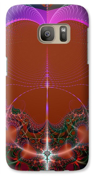 Galaxy Case featuring the digital art My Valentine by Ester  Rogers
