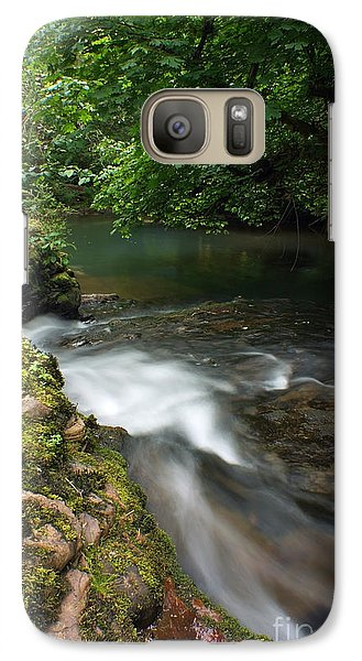 Galaxy Case featuring the photograph Mystic Creek by Tyra  OBryant