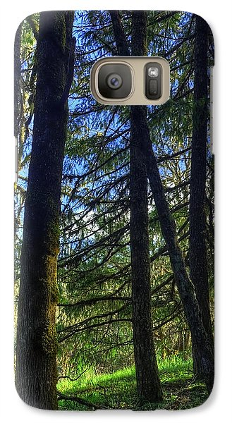 Galaxy Case featuring the photograph Mystical Forest by Tyra  OBryant