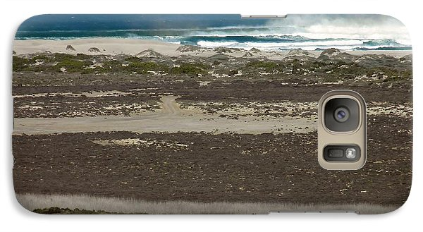 Galaxy Case featuring the photograph Namaqualand Farm by Werner Lehmann