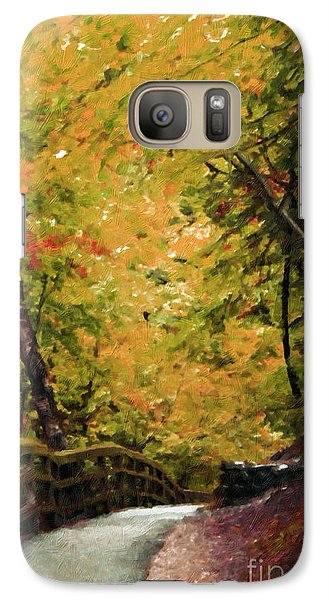 Galaxy Case featuring the photograph Nature In Oil  by Deniece Platt
