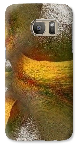 Galaxy Case featuring the mixed media Nest Of Hope  by Ray Tapajna