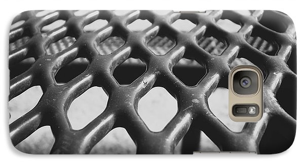 Galaxy Case featuring the photograph Net by Andrea Anderegg