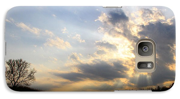 Galaxy Case featuring the photograph Never Alone by Mark J Seefeldt