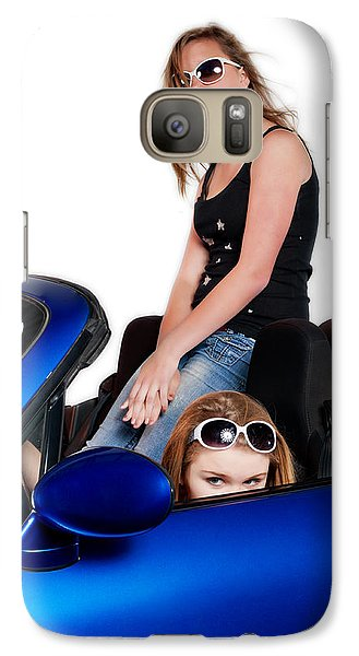 Galaxy Case featuring the photograph New Drivers by Jim Boardman