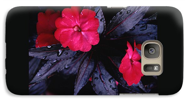 Galaxy Case featuring the photograph New Guinea Impatiens by Tom Wurl