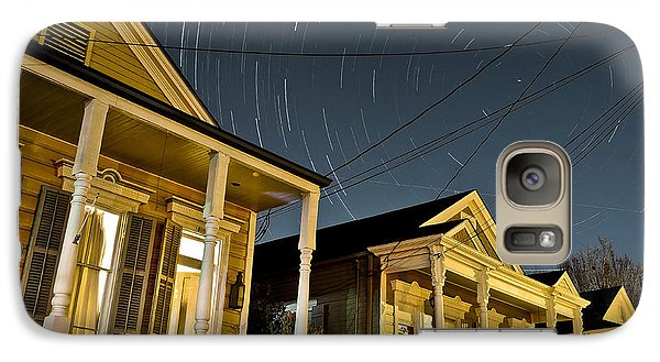 Galaxy Case featuring the photograph New Orleans Star Trails by Ray Devlin