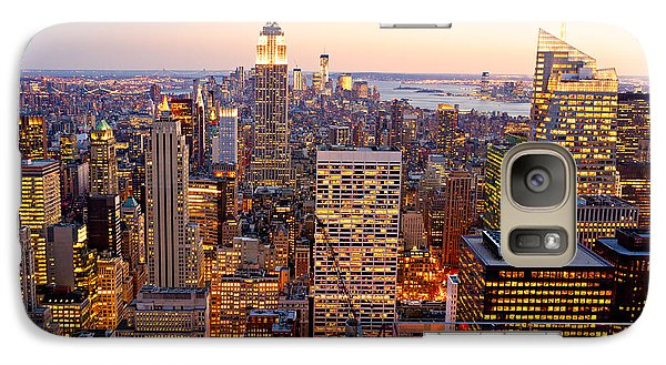 Galaxy Case featuring the photograph New York City by Luciano Mortula