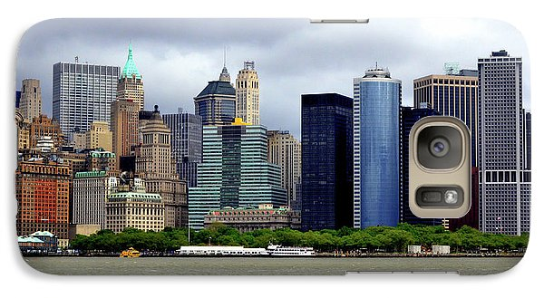 Galaxy Case featuring the photograph New York City by Pravine Chester