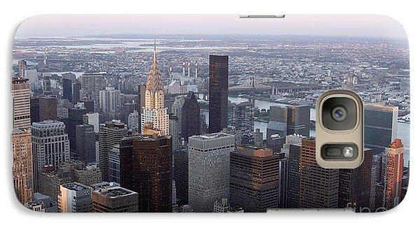 Galaxy Case featuring the photograph New York by Milena Boeva