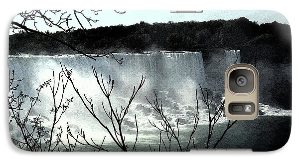 Galaxy Case featuring the photograph Niagar Falls by Pravine Chester