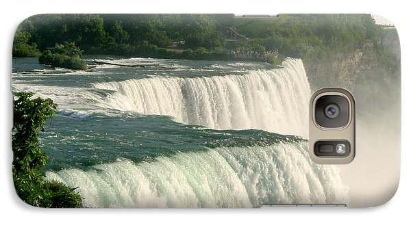 Galaxy Case featuring the photograph Niagara Falls State Park by Mark J Seefeldt