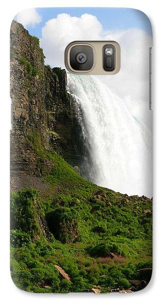 Galaxy Case featuring the photograph Niagara Falls Us Side by Mark J Seefeldt