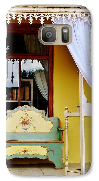 Galaxy Case featuring the photograph Nice Place To Read A Book by Werner Lehmann