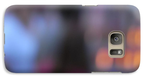 Galaxy Case featuring the photograph Imagine Nightfall At The Funfair by Andy Prendy