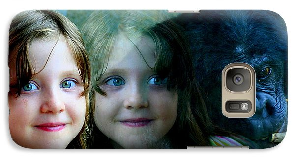 Galaxy Case featuring the photograph Nora's Reflection by Laurel Talabere