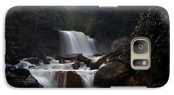 Galaxy Case featuring the photograph North Forks Waterfalls by Dan Friend