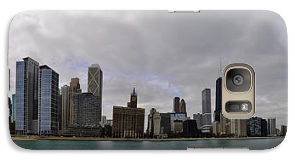 Galaxy Case featuring the photograph North Of Navy Pier From The Series Chicago Skyline by Verana Stark