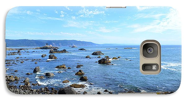 Galaxy Case featuring the photograph Northern California Coast3 by Zawhaus Photography