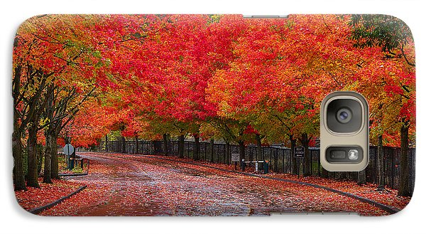 Galaxy Case featuring the photograph Northwest Autumn by Ken Stanback