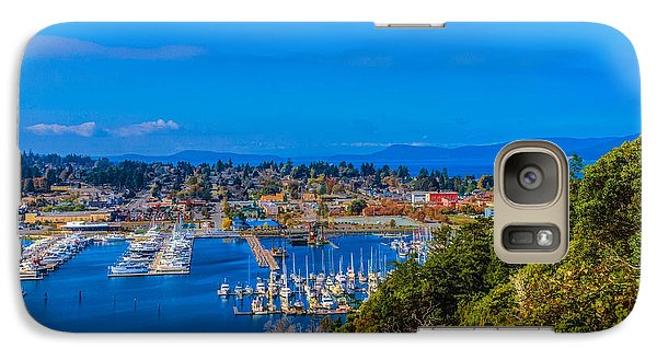 Galaxy Case featuring the photograph Northwest Harbor by Ken Stanback