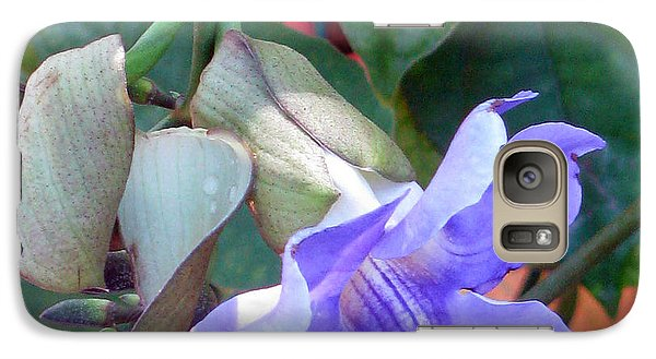 Galaxy Case featuring the photograph Nothing But Blue Sky by Debi Singer