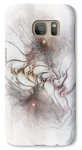 Galaxy Case featuring the digital art Nuanced by Casey Kotas