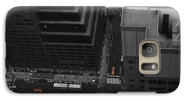 Nyc From The Top 1 Galaxy Case by Naxart Studio