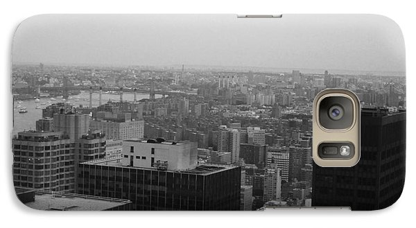 Nyc From The Top 2 Galaxy Case by Naxart Studio