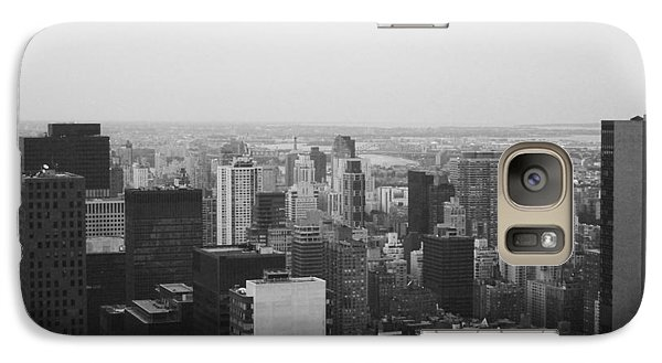 Nyc From The Top 3 Galaxy Case by Naxart Studio