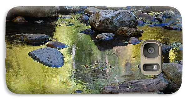 Galaxy Case featuring the photograph Oak Creek Reflection by Tam Ryan