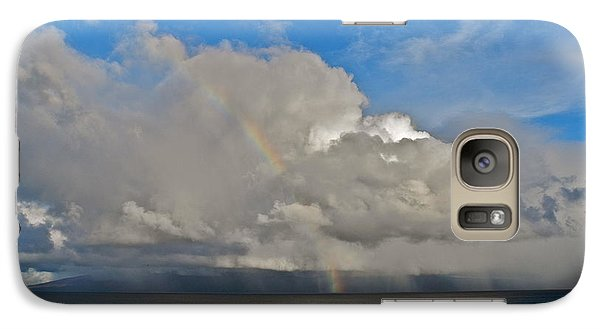 Galaxy Case featuring the photograph October Rainbow In Maui by Kirsten Giving
