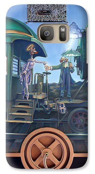 Ostrich Galaxy S7 Case - Of Thee I Sing The Body Electric by Patrick Anthony Pierson
