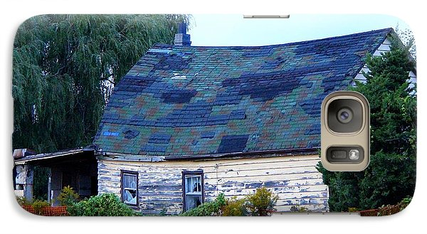 Galaxy Case featuring the photograph Old Barn by Davandra Cribbie