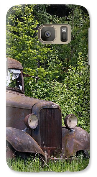Galaxy Case featuring the photograph Old Classic by Steve McKinzie