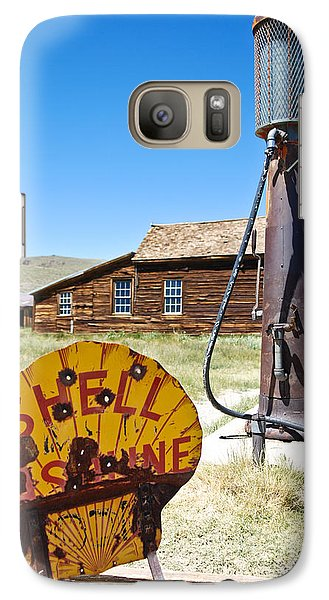 Galaxy Case featuring the photograph Old Gas Pumps by Shane Kelly