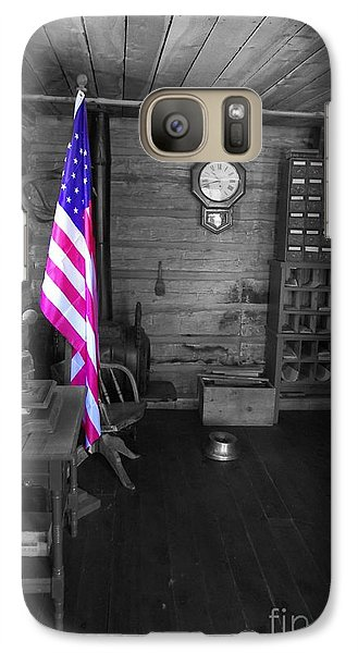 Galaxy Case featuring the photograph Old Glory by Deniece Platt