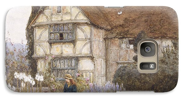 Garden Galaxy S7 Case - Old Manor House by Helen Allingham