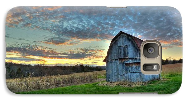 Galaxy Case featuring the photograph Old Mines Barn by William Fields