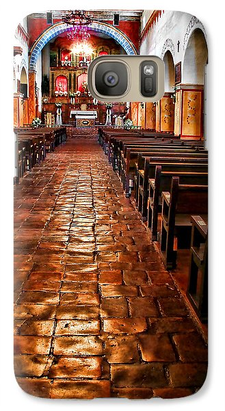 Galaxy Case featuring the photograph Old Mission Church by Jason Abando