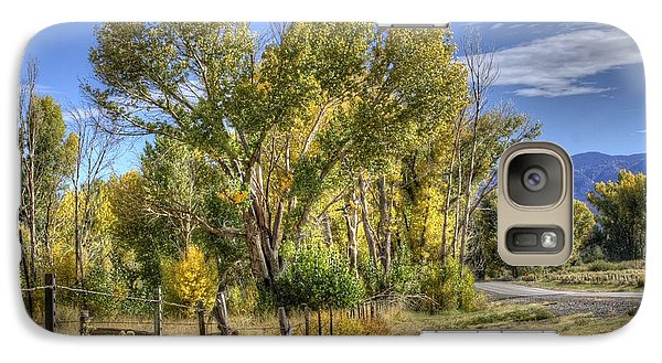 Galaxy Case featuring the photograph Old Ranch Near Bishop by Michele Cornelius