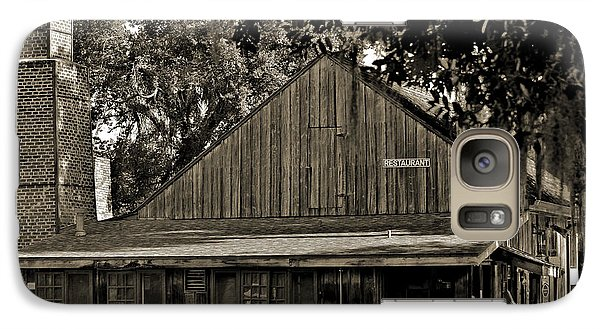 Galaxy Case featuring the photograph Old Spanish Sugar Mill Old Photo by DigiArt Diaries by Vicky B Fuller