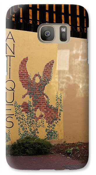 Galaxy Case featuring the photograph Old Town Grants Pass Detail by Mick Anderson