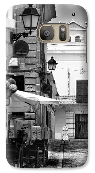 Galaxy Case featuring the photograph Old Town by Pedro Cardona