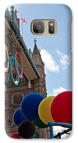 Galaxy Case featuring the photograph Olympic London by Shirley Mitchell