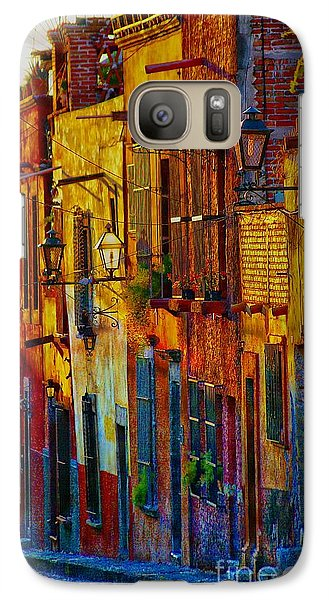 Galaxy Case featuring the photograph On The  Way Home by John  Kolenberg