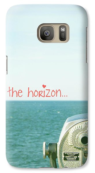 Galaxy Case featuring the photograph On The Horizon by Robin Dickinson